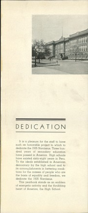 Page 5, 1935 Edition, Peru High School - Narcissus Yearbook (Peru, IN) online yearbook collection