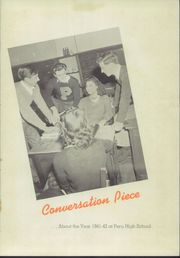 Page 5, 1942 Edition, Peru High School - Narcissus Yearbook (Peru, IN) online yearbook collection