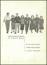 Page 5, 1949 Edition, Peru High School - Narcissus Yearbook (Peru, IN) online yearbook collection