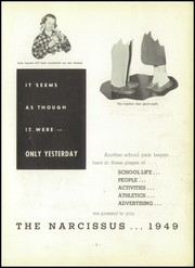 Page 7, 1949 Edition, Peru High School - Narcissus Yearbook (Peru, IN) online yearbook collection