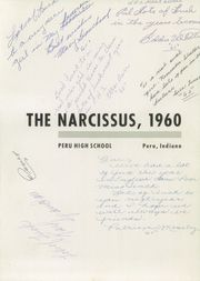 Page 5, 1960 Edition, Peru High School - Narcissus Yearbook (Peru, IN) online yearbook collection