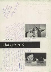 Page 7, 1960 Edition, Peru High School - Narcissus Yearbook (Peru, IN) online yearbook collection