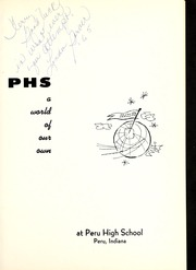 Page 5, 1963 Edition, Peru High School - Narcissus Yearbook (Peru, IN) online yearbook collection