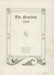 Page 7, 1929 Edition, Jefferson High School - Nautilus Yearbook (Lafayette, IN) online yearbook collection