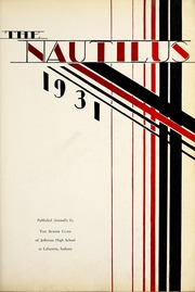 Page 13, 1931 Edition, Jefferson High School - Nautilus Yearbook (Lafayette, IN) online yearbook collection