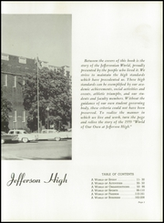 Page 9, 1959 Edition, Jefferson High School - Nautilus Yearbook (Lafayette, IN) online yearbook collection