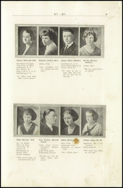 Page 11, 1922 Edition, Sault Ste Marie High School - Northern Light Yearbook (Sault Ste Marie, MI) online yearbook collection