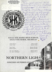 Page 5, 1967 Edition, Sault Ste Marie High School - Northern Light Yearbook (Sault Ste Marie, MI) online yearbook collection