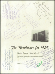 Page 5, 1959 Edition, North Central High School - Northerner Yearbook (Indianapolis, IN) online yearbook collection