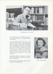 Page 9, 1954 Edition, Valier High School - Northern Lights Yearbook (Valier, MT) online yearbook collection