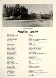 Page 9, 1958 Edition, Valier High School - Northern Lights Yearbook (Valier, MT) online yearbook collection
