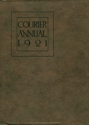 Page 1, 1921 Edition, Boise High School - Courier Yearbook (Boise, ID) online yearbook collection
