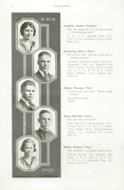 Page 16, 1921 Edition, Boise High School - Courier Yearbook (Boise, ID) online yearbook collection