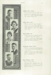 Page 15, 1922 Edition, Boise High School - Courier Yearbook (Boise, ID) online yearbook collection