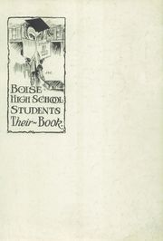 Page 3, 1922 Edition, Boise High School - Courier Yearbook (Boise, ID) online yearbook collection