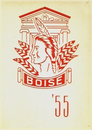 1955 Edition, Boise High School - Courier Yearbook (Boise, ID)