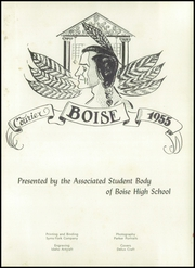 Page 5, 1955 Edition, Boise High School - Courier Yearbook (Boise, ID) online yearbook collection