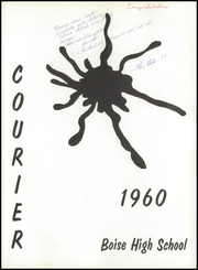 Page 5, 1960 Edition, Boise High School - Courier Yearbook (Boise, ID) online yearbook collection