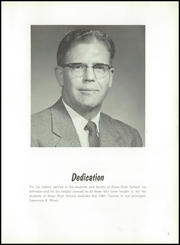 Page 9, 1960 Edition, Boise High School - Courier Yearbook (Boise, ID) online yearbook collection