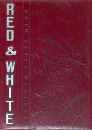 1949 Edition, Iowa City High School - Red and White Yearbook (Iowa City, IA)
