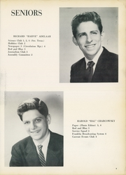 Page 11, 1956 Edition, Franklin School - Franklinite Yearbook (New York City, NY) online yearbook collection