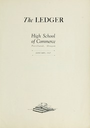 Page 5, 1927 Edition, Commerce High School - Ledger Yearbook (Portland, OR) online yearbook collection