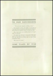 Page 7, 1930 Edition, Commerce High School - Ledger Yearbook (Portland, OR) online yearbook collection