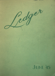 1945 Edition, Commerce High School - Ledger Yearbook (Portland, OR)