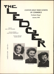Page 3, 1946 Edition, Commerce High School - Ledger Yearbook (Portland, OR) online yearbook collection