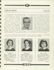 Page 17, 1952 Edition, Francis W Parker School - Record Yearbook (Chicago, IL) online yearbook collection