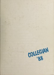 Vancouver College - Collegian Yearbook (Vancouver, British Columbia Canada) online yearbook collection, 1988 Edition, Page 1
