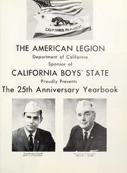 Page 5, 1962 Edition, California Boys State - Yearbook (Sacramento, CA) online yearbook collection