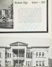 Page 13, 1959 Edition, Burbank High School - Ceralbus Yearbook (Burbank, CA) online yearbook collection