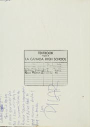 Page 2, 1984 Edition, La Canada High School - Omega Yearbook (La Canada Flintridge, CA) online yearbook collection