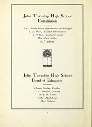 Page 4, 1919 Edition, Joliet Central High School - Steelmen Yearbook (Joliet, IL) online yearbook collection
