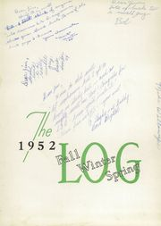 Page 5, 1952 Edition, Longfellow High School - Log Yearbook (Kearney, NE) online yearbook collection