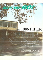 Page 5, 1986 Edition, Ernest Seaholm High School - Piper Yearbook (Birmingham, MI) online yearbook collection