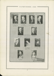 Page 18, 1926 Edition, Burlington Community High School - Pathfinder Yearbook (Burlington, IA) online yearbook collection