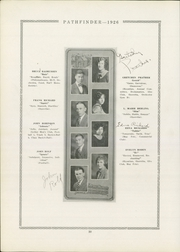 Page 38, 1926 Edition, Burlington Community High School - Pathfinder Yearbook (Burlington, IA) online yearbook collection