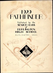 Page 9, 1929 Edition, Burlington Community High School - Pathfinder Yearbook (Burlington, IA) online yearbook collection