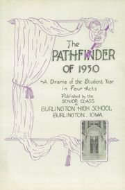 Page 7, 1930 Edition, Burlington Community High School - Pathfinder Yearbook (Burlington, IA) online yearbook collection