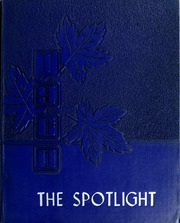 Page 1, 1960 Edition, Peacham Academy - Spotlight Yearbook (Peacham, VT) online yearbook collection