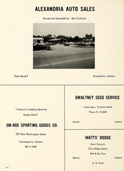 Summitville High School - Oak Leaves Yearbook (Summitville, IN) online yearbook collection, 1966 Edition, Page 114