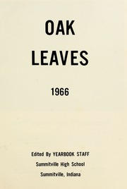 Page 5, 1966 Edition, Summitville High School - Oak Leaves Yearbook (Summitville, IN) online yearbook collection