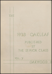 Page 8, 1938 Edition, Auglaize Brown High School - Oakleaf Yearbook (Oakwood, OH) online yearbook collection