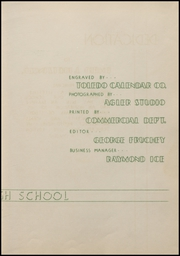 Page 9, 1938 Edition, Auglaize Brown High School - Oakleaf Yearbook (Oakwood, OH) online yearbook collection