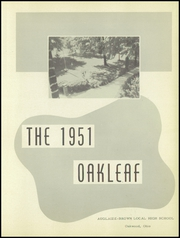 Page 5, 1951 Edition, Auglaize Brown High School - Oakleaf Yearbook (Oakwood, OH) online yearbook collection
