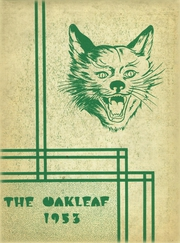 Page 1, 1953 Edition, Auglaize Brown High School - Oakleaf Yearbook (Oakwood, OH) online yearbook collection