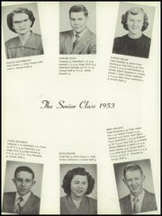 Page 16, 1953 Edition, Auglaize Brown High School - Oakleaf Yearbook (Oakwood, OH) online yearbook collection