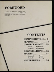 Page 7, 1959 Edition, Auglaize Brown High School - Oakleaf Yearbook (Oakwood, OH) online yearbook collection